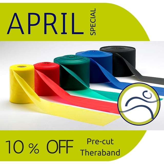 Monthly-Specials-1 April Special elastic exercise fitness leducphysio physiotherapy product resistance strength strong theraband workout