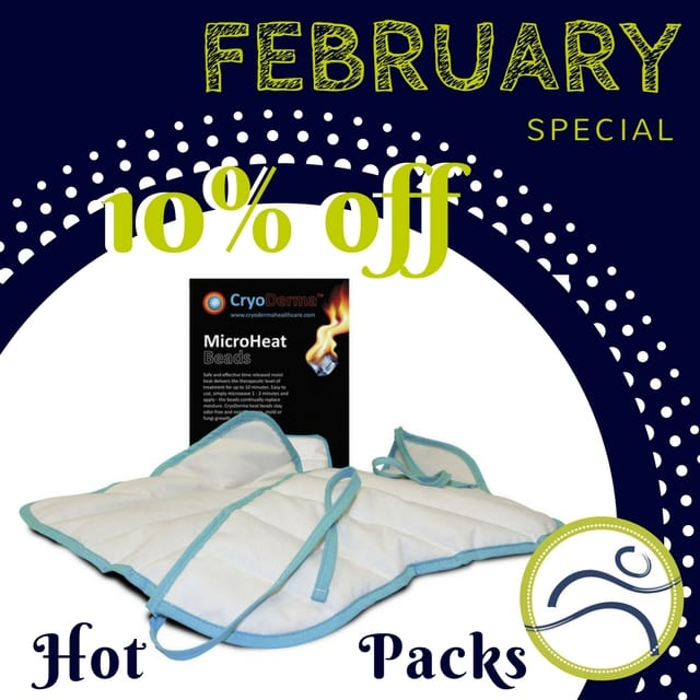 February-Micro-Bead February Product of The Month: Microwaveable Hot Packs arthritis cramping fibromyalgia headaches muscular aches pains