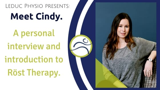 Cindy-Rost-Blog Meet our Physiotherapist; Cindy Freyne abdominal achy ankle back back pain children core edmonton exercise injury Ireland knee Leduc low back lumbar pain pelvic pain pelvis physio physiotherapist physiotherapy postnatal pregnancy pregnant Röst Therapy sore sports strength strong taping therapy trauma treatment