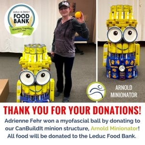 Contest-Winners-300x300 Thank you for your donations! business contest donate food Leduc Leduc County Leduc District Food Bank leduc physio minion myofascial ball physiotherapy support winner