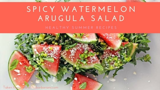 Blog-Titles-9 A New Take on Fresh: Spicy Watermelon Arugula Salad arugula food fresh recipe salad summer watermelon