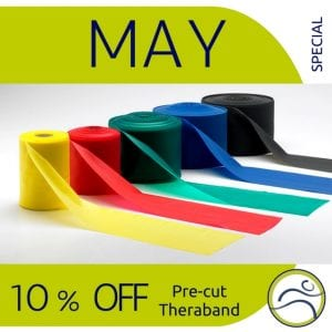 May-Theraband-300x300 5 Reasons to add therabands to your workout! band beginner elastic expert fitness health physiotherapy rehabilitation resistance strength training strong theraband travel weights workout