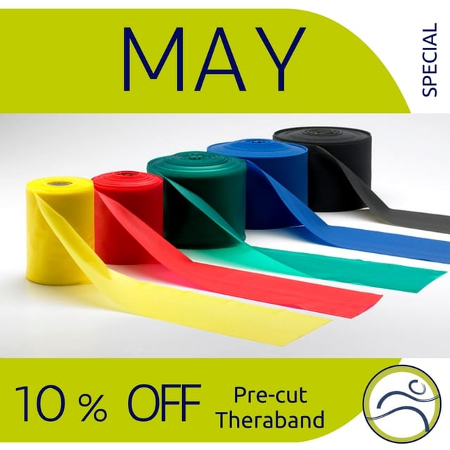 May-Theraband 5 Reasons to add therabands to your workout! band beginner elastic expert fitness health physiotherapy rehabilitation resistance strength training strong theraband travel weights workout