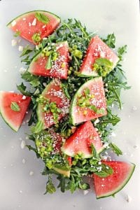 Blog-Titles-9-300x169 A New Take on Fresh: Spicy Watermelon Arugula Salad arugula food fresh recipe salad summer watermelon
