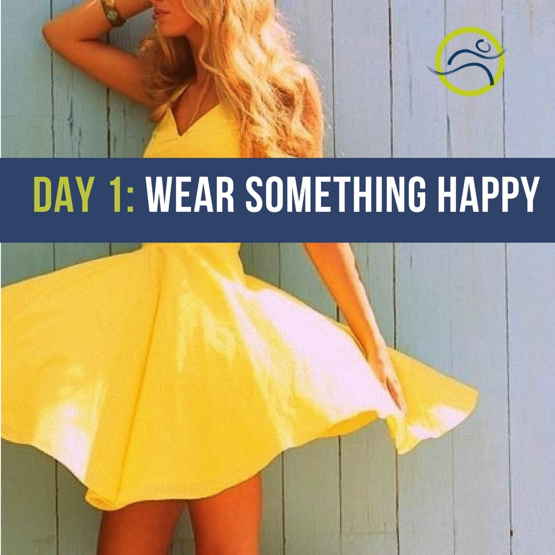 Happy-Challenge-Day-1 Wear Something Fun! 5 day diy easy emotion happiness happy challenge leduc physio mood positivity simple simple changes stress
