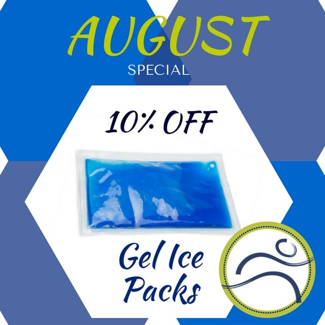August-Gel-Packs Gel Packs on Sale for August! aches active blood cold compression cool gel pack healing heat home therapy hot ice inflammation injury pain physiotherapy relax rest soothe sport summer swelling