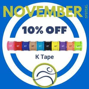 November-K-Tape-300x300 November Special aching athletes blood flow fitness health injury k-tape kinesiology kinesiology tape Ktape lymphatic drainage muscle pain pattern physiotherapy posture proprioception sports swelling tape taping