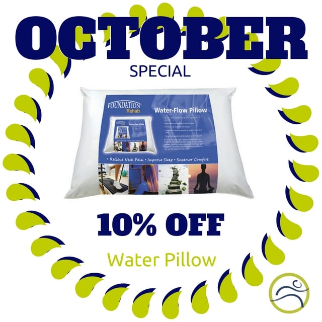 October-Water-Pillow October Special back contour cool custom firm neck october pain pain relief pillow sleep sleep issues soft special support trouble sleeping water water pillow