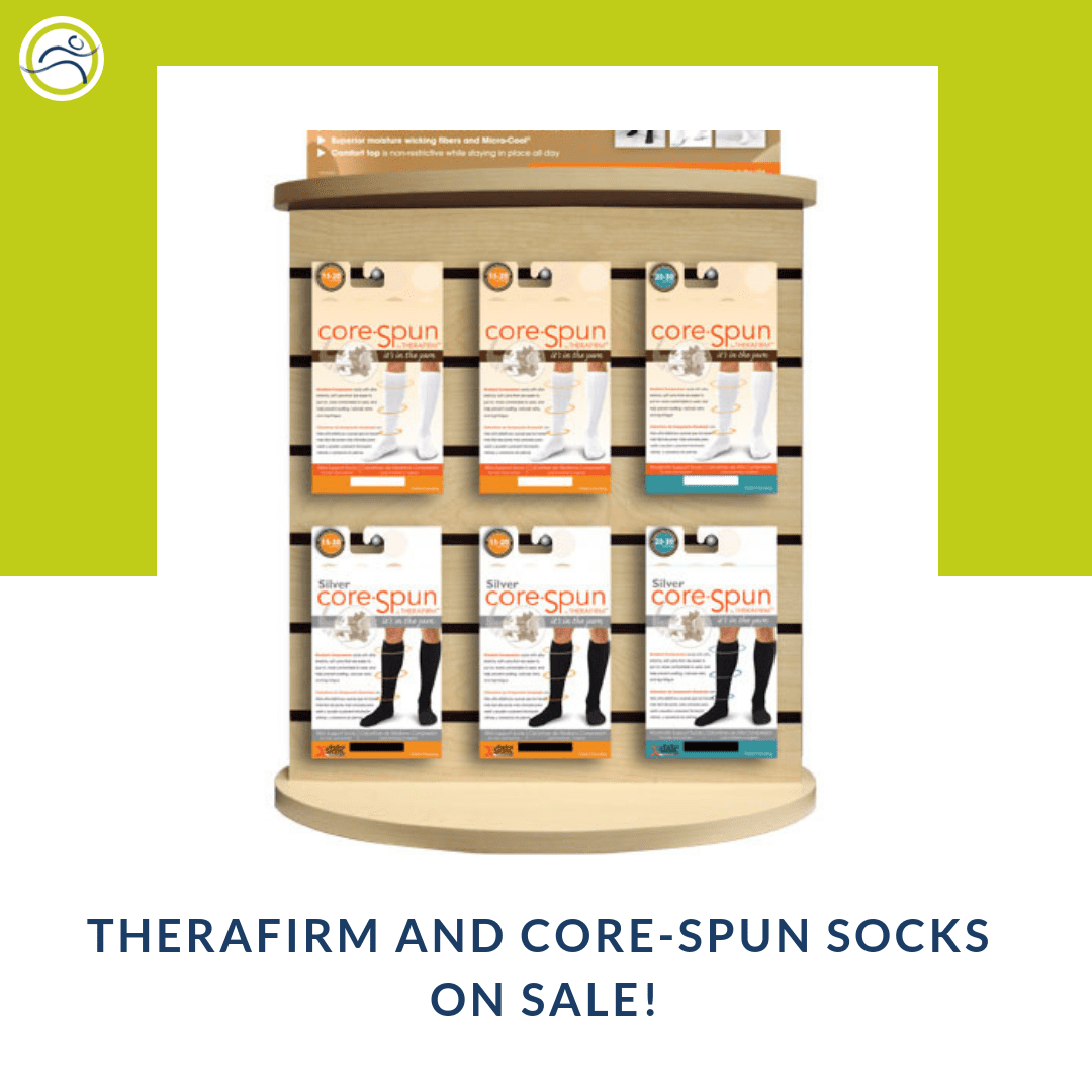 Buy-1Get-1 Therafirm Compression Socks are 50% off - Final Sale - While supplies last ! alberta compression socks Leduc massage therapy physiotherapy sale therafirm