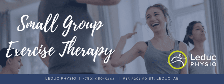 Leduc-Physio-_-15-5 Group Exercise Therapy aching arthritis back pain City of Leduc cost effective custom exercise exercise therapy fitness form group program kinesiology Leduc Leduc County leducphysio mobility osteoarthritis osteoporosis pain poor posture program small group sore strength therapy