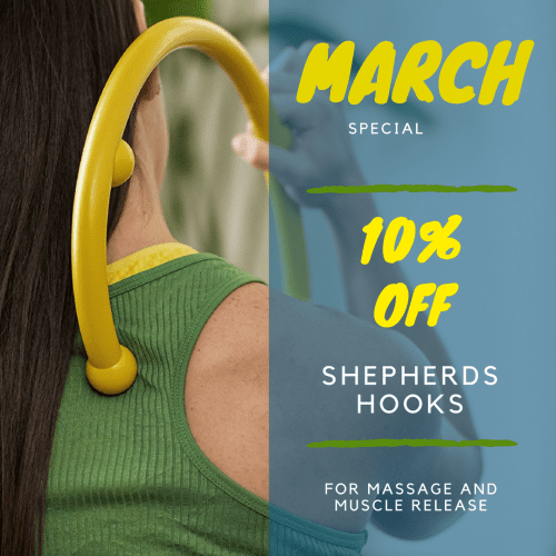 Product-of-the-Month-Instagram-Size-2-e1520276639489 Shepherds Hook March Special knot massage muscle myofascial release pain product relaxation self-massage shepherds hook sore tension